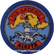TCG AKDENIZ (F-256) LOGO-CREST