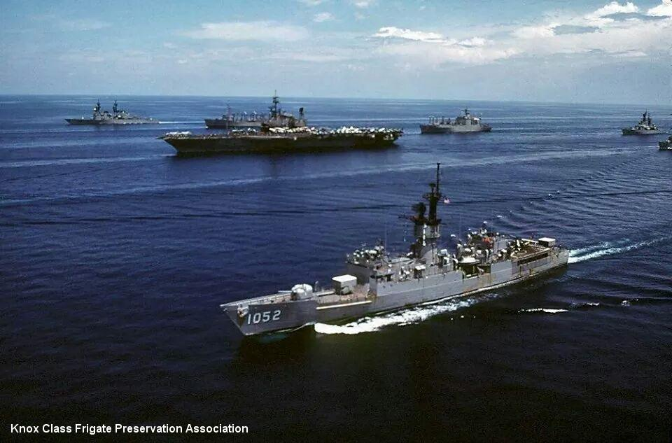 USS Knox (FF-1052): 28 September 1985: Midway's Battle Group Alpha