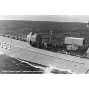 Taken from USS COOK FF-1083 while along side USS ROARK FF-1053