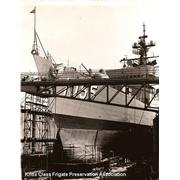 USS Hepburn DE 1055 Bow