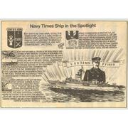 Navy Times Ship in the Spotlight
