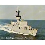 USS W.S.Sims Post Card - circa 1970-77