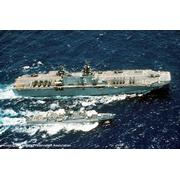 With USS Belleau Wood (LHA-3), RIMPAC, May 1990