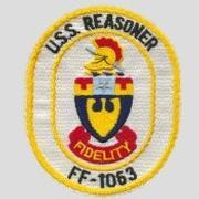 USS REASONER FF-1063 LOGO-CREST (© TR NAVY MCPO DURMUS ALI AKBULUT)