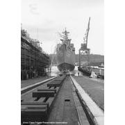 23 October 1969: launching at Todd Shipyards, Seattle