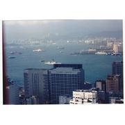 Bagley from atop Victoria Peak HK Oct 89