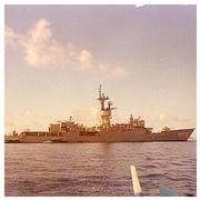 USS Robert E. Peary FF 1073 (© Robert Allen)