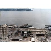 FF-1074 as seen from Seattle's Space Needle during SeaFair '86