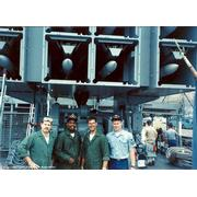 Harold E. Holt FC Crew working on the BPDMS in 1988 (© 1988 - Jerry Olin or Kenton Simmons)