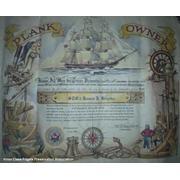USS Harold E. Holt decommissioning certificate July 2, 1992 (© 1992 James J. Krepka)