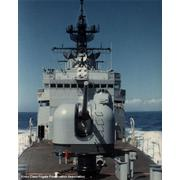 USS Harold E. Holt looking aft toward the 5