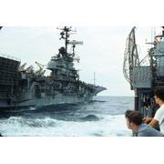 USS Harold E. Holt Personnel Transfer 1975 (Neil Forsgren)