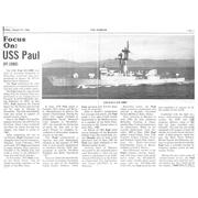 Mayport Mirror newspaper article on the USS Paul, 1984