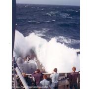 Rounding the Cape of Good Hope. Mideast Cruise 73-74