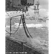 05 September 1988: UNREP from Forrestal (CV-59) during Exercise Teamwork 88