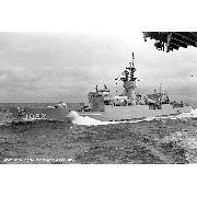 Alongside Forrestal (CV-59), 05 September 1988
