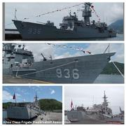 Former USS Cook FF 1083 now residing in Suao, Taiwan. Now named the Hae Yang FFG 936