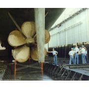 USS Cook's prop/ screw @ NASCO Shipyard, San Diego, CA