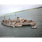 Cook and Camden (AOE-2) in Diego Garcia