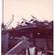 Unrep with the Coral Sea in 1974 if memory serves.