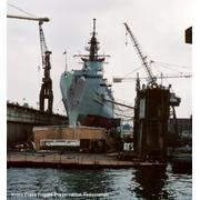 12Sept87 Floating drydock Norfolk Shipbuilder & Drydock.. Thanks Bill Gonino