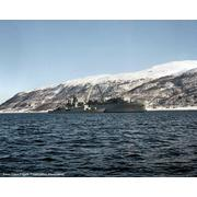 1 April 1984: Tromso, Norway with USS Yellowstone (AD-41) for United Effort/Teamwork '84