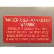 CWIS Warning Sign