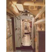 Port Side Passageway Heading Aft