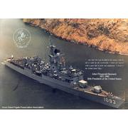 USS Capodanno in Panama Canal.