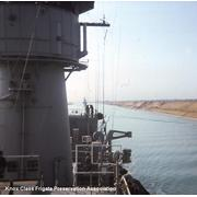 USS Valdez transiting Suez Canal 31Jan76 (© Gary C. Walters)