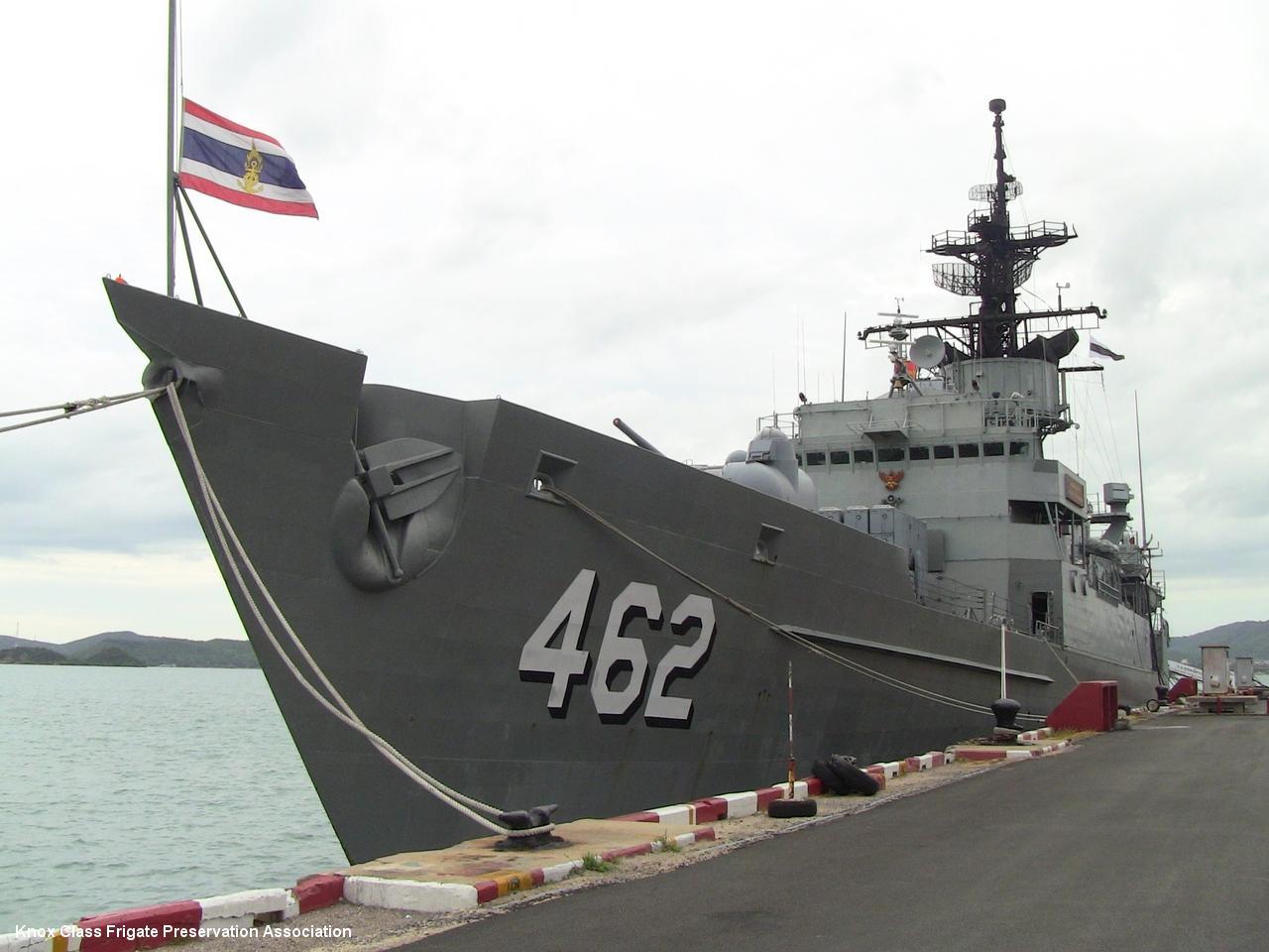 HTMS Phutthaloetla Naphalai (FFG-462) ...